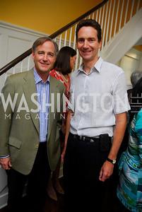Joe Stettinius, Ian Cameron, David Wise Book Party, June 8, 2011, Kyle Samperton
