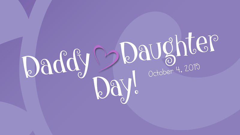 Daddy Daughter Day 2015