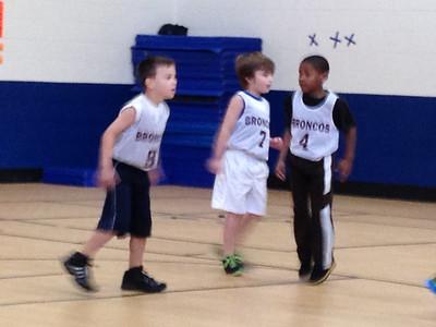 Dec. 2012 Quinn & Hailey Basketball, Soccer Games