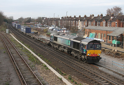 66418 Eastleigh 13/12/13 4M28 Southampton to Ditton