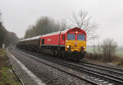 66001 Micheldever 30/12/13 6Y32 Fawley to Holybourne