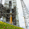 The ULA Delta IV just prior to tower rollback.