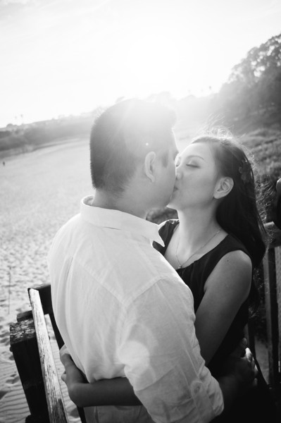 Denise & Sammy   Santa Cruz engagement