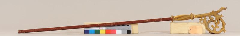 Vorzustand: Anna Altar, Schrein links, Krummstab des Hl.Gallus? AAF_0495_08-06-2011