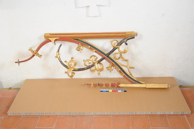 Galgenen, Kapelle St. Jost Anna Altar  - lose Teile nach dem Abbau AAF_0382_10-05-2011