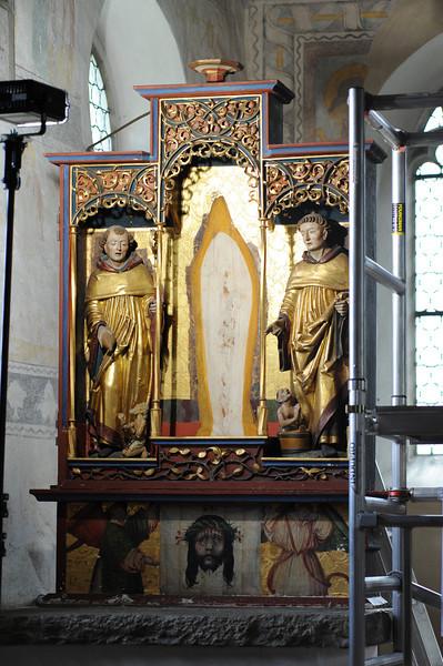 Galgenen, Kapelle St. Jost Anna Altar - Schrein AAF_0261_04-05-2011