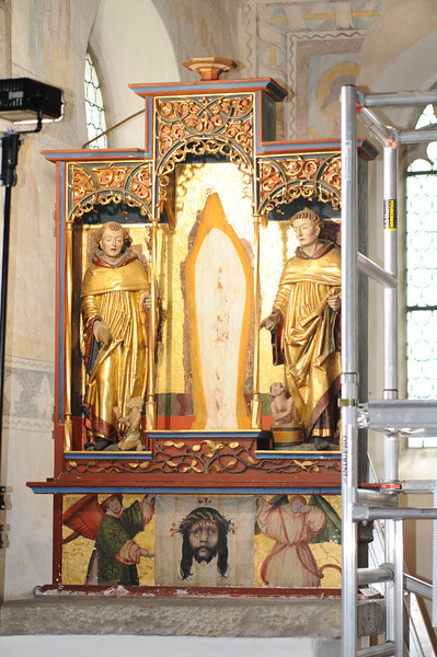 Galgenen, Kapelle St. Jost Anna Altar - Schrein AAF_0262_04-05-2011