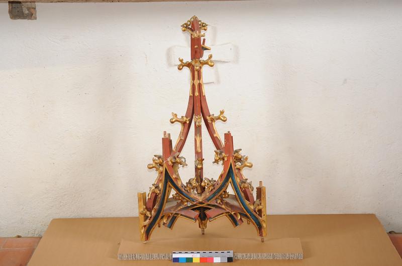 Galgenen, Kapelle St. Jost Anna Altar  - lose Teile nach dem Abbau AAF_0383_10-05-2011