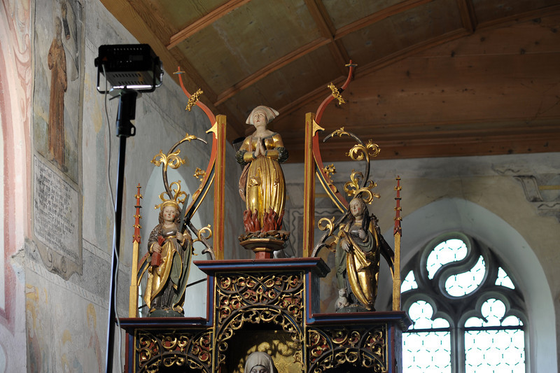 Galgenen, Kapelle St. Jost Anna Altar - Gesprenge AAF_0240_03-05-2011
