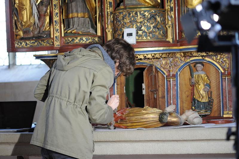 Galgenen, Kapelle St. Jost Anna Altar - Gesprenge AAF_0245_03-05-2011