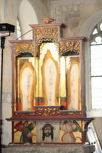 Galgenen, Kapelle St. Jost Anna Altar - Schrein AAF_0267_04-05-2011