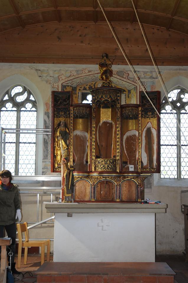 Galgenen, Kapelle St. Jost<br /> Hegner Altar  - <br /> AAF_0303_06-05-2011