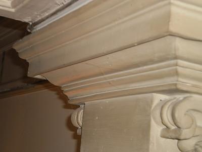Kapitel über Pilaster P1 Nordwand Vorzustand Sequenz 1 PICT0084