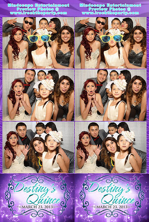 Destiny Martinez's Quince - Photo Booth Pictures