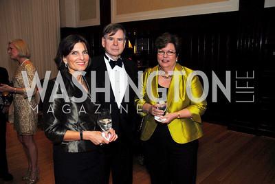 Sandra Pinkard, Geoff Stewart, Susan Page, Diane Rehm Roast, April 7, 2011, Kyle Samperton
