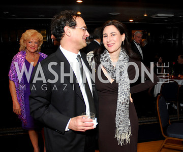 Jim Wolf, Sharon Weinberger, Diane Rehm Roast, April 7, 2011, Kyle Samperton