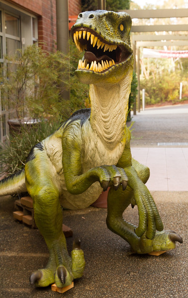 Dinosaurs at the Gardens
