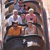 Rob, Addison, Amy, Lib, Jayden,Alyssa on Splash Mountian