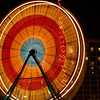 Ferris wheel on Daytona Beach.