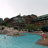 Wilderness Lodge swimming pool.