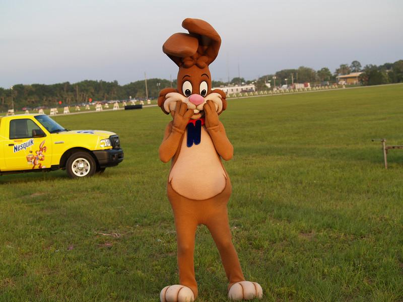 At the ballon festival in New Symrna beach