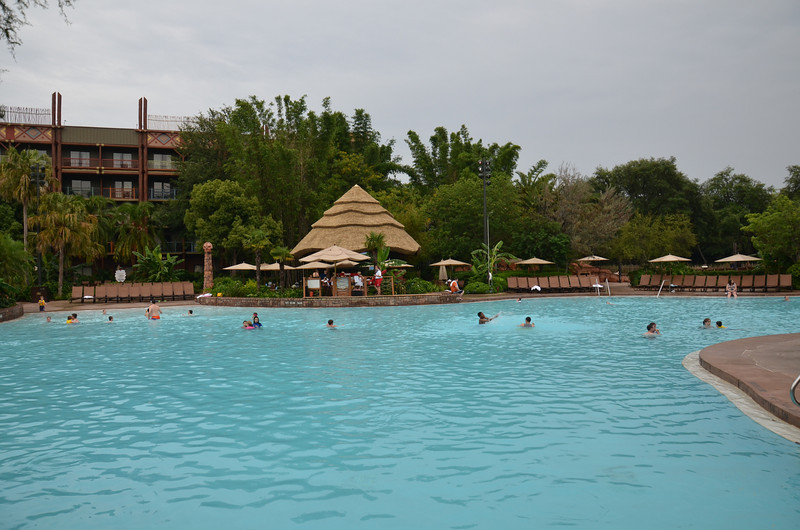 Swimming pool at Disney Animal Kingdom Resort