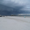 Storm coming at New Symrna Beach