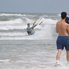 Kite surfing at New Symrna beach