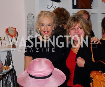 Elizabeth Sinclair, Pamela Seitz, February 24,2011,Divinely by the Dozen at Sassanova,Kyle Samperton