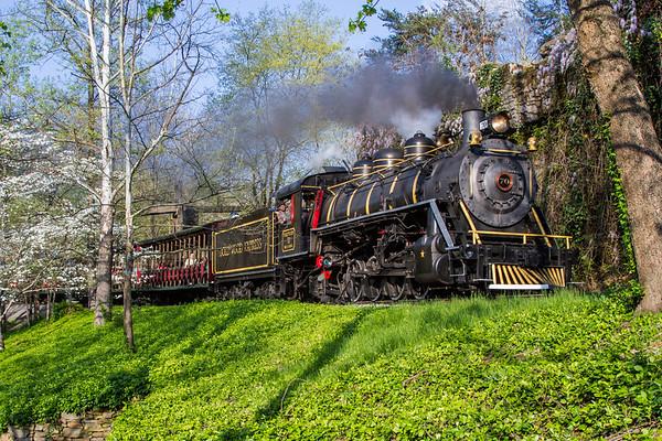 Dollywood Railroad