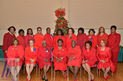Dr Paulette Walker, 25th National President and Brittani Blackwell, National Second Vice President, Delta Sigma Theta Sorority, Inc visits St. Stephen AME Church