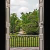 Drayton Hall Plantation, view from balcony