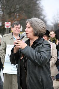 Debra Sweet of The World Can't wait   http://www.worldcantwait.net/