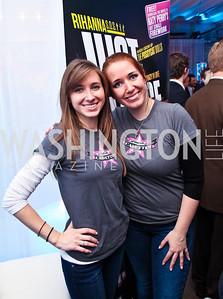 Kim Weigend, Carolyn Glatz. ESA Software Preview. Photo by Tony Powell. Longview Gallery. February 16, 2011