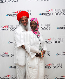 Shaykh Matthews,Ameena Matthews,ESPN Party at SilverDocs,June 24,2011,Kyle Samperton
