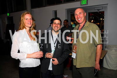 Libby  Geist,Matt McDonald,Hal Smiler,ESPN Party at SilverDocs,June 24,2011,Kyle Samperton