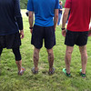 These are mud-covered runners after the event.  Keep in mind that this event was a fundraiser for the Eagle Creek Park Foundation to help fund trail restoration projects.  Will any of the money that was raised be put back into fixing the damage that this event created?