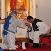 Washing of the Feet service at St. Garabed Church, Baton Rouge, LA.