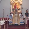 Easter Eve celebration at St. Garabed Church, Baton Rouge, LA.