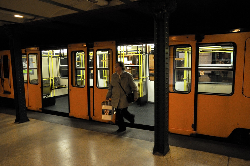 Vorosmarty Station - oldest subway in continental Europe - Budapest, Hungary