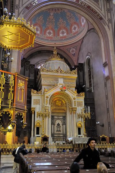 Interior - Budapest Great Synagogue