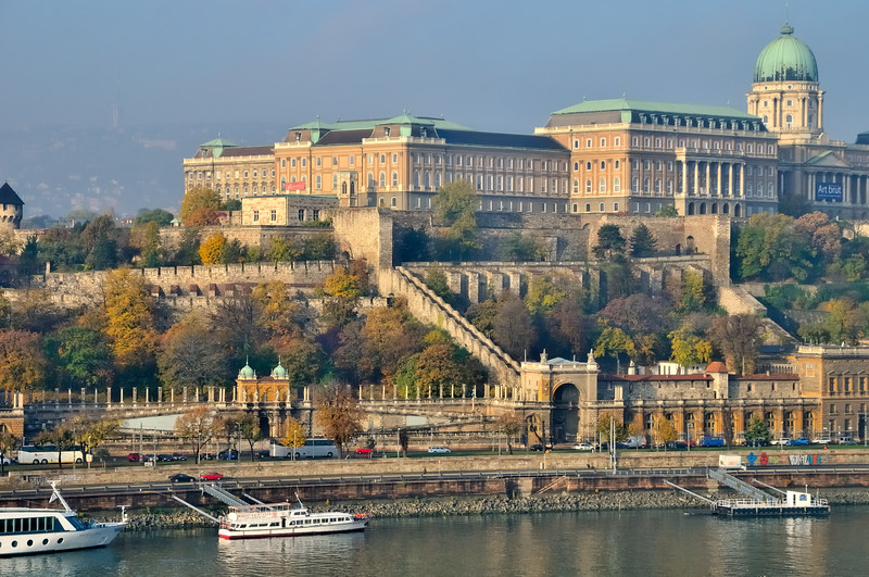 Buda Castle from Pest