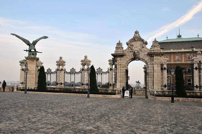 1903 Gateway - Buda Castle - Budapest, Hungary