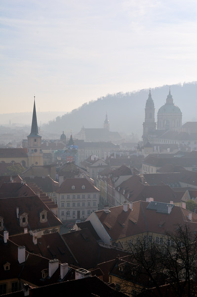 Morning fog - Prague, Czech Republic