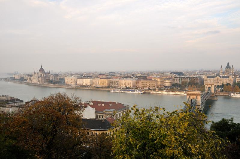 Danube view -  Buda Castle - Budapest, Hungary