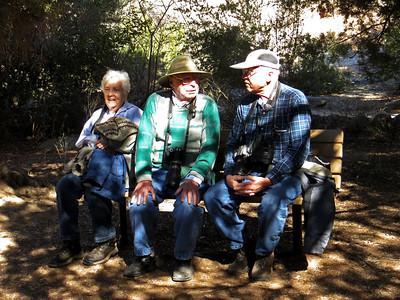 Kathy & Fay Millett, Eddie Chew, Boyce Thompson Park