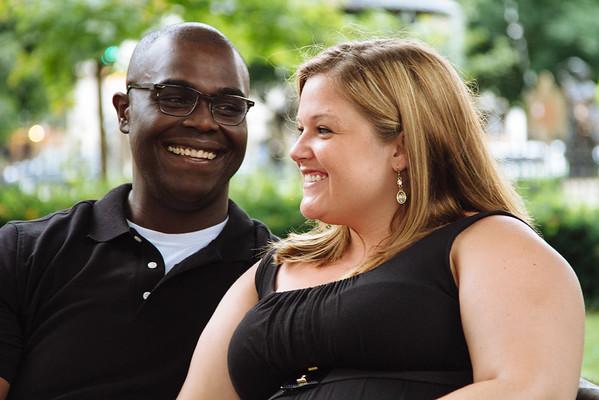 Elizabeth & Kalu. Engaged