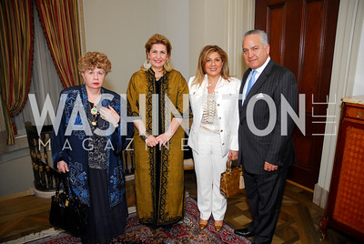 Bonnie Saheili,Suzy Shoukry,Mellina Beheshti,Reza Beheshti,March 4,2011,Embassy Series at the Residence of the Egyptian Ambassador,Kyle Samperton