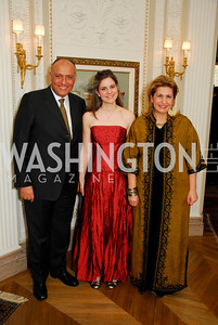 Sameh Shoukry,Caroline Chehade,Suzy Shoukry,March 4,2011,Embassy Series at the Residence of the Egyptian Ambassador,Kyle Samperton