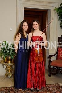Jennifer Jackson,Caroline Chehade,March 4,2011,Embassy Series at the Residence of the Egyptian Residence